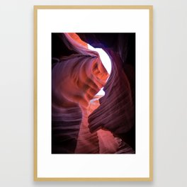 Warped in Arizona Framed Art Print