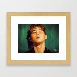 EXO Suho Framed Art Print
