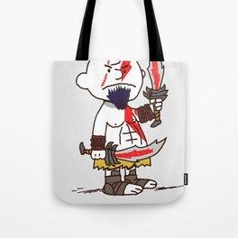 Kratos Brown Tote Bag