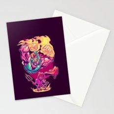 LUCHADORO VS EL DIABLO Stationery Cards