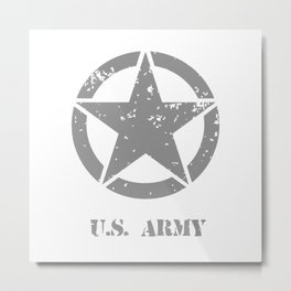 Us Arny Metal Print