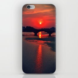 Florence sunset iPhone Skin