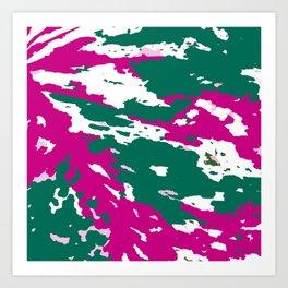 White Caladium Art Print