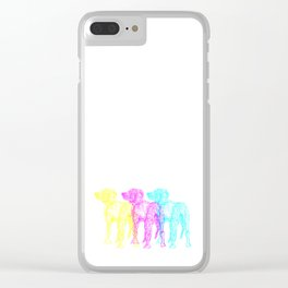 CMY-DOG Clear iPhone Case