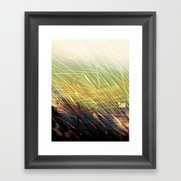 BREAKING GROUNDS Framed Art Print