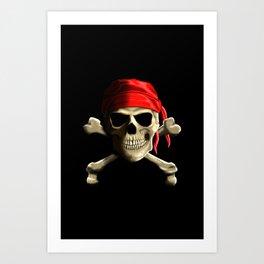 The Jolly Roger Art Print