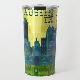 I love Austin, TX Travel Mug