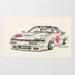 Crazy Car Art 0182 Rug