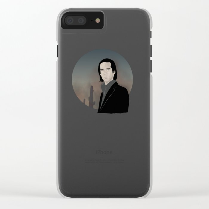 Nick Cave Clear iPhone Case