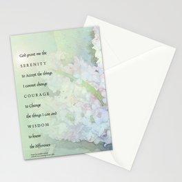 Serenity Prayer Hyacinths Blend Stationery Cards