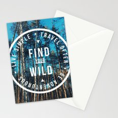 find your wild Stationery Cards