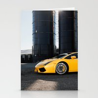 lamborghini Stationery Cards featuring Lamborghini by Speed-Photos
