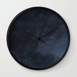 Hawaiian Moon Wall Clock