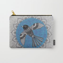 Beautiful Bird Mandala Carry-All Pouch