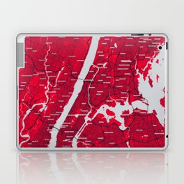 FanMap | MLB New York #11 Laptop & iPad Skin