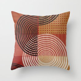 Natural Geometry VIII Throw Pillow