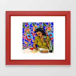 Comics Are For Everyone  Framed Art Print