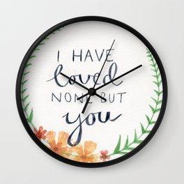 Austen, Persuasion Wall Clock