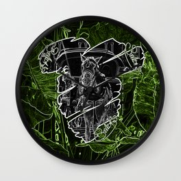 Sevillas V3 V All Over Print Shirts Wall Clock
