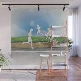 Get Outside Wall Mural