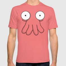 Dr. Zoidberg Mens Fitted Tee LARGE Pomegranate
