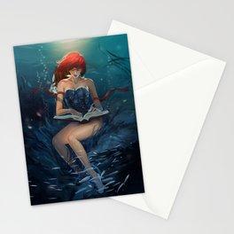 dive reader Stationery Cards