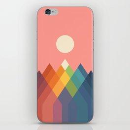 Rainbow Peak iPhone Skin