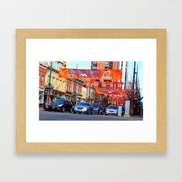 Broncos Country Framed Art Print
