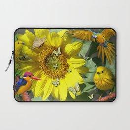 Sunflower feast Laptop Sleeve