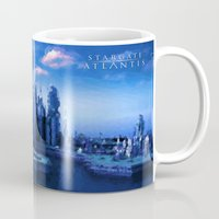 stargate Mugs featuring The lost city by Samy