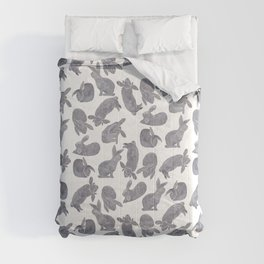 Bunny Poses Comforters