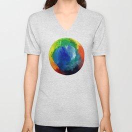 Rainbow Circle Unisex V-Neck