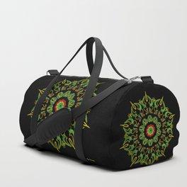 Mandala Reggae en la noche Duffle Bag