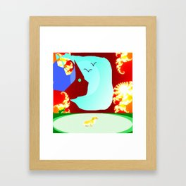 Somewhere Out There Framed Art Print