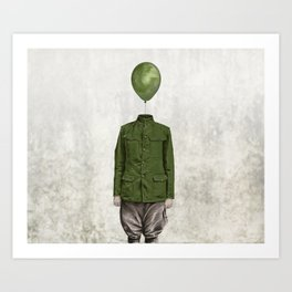 The Soldier - #3 Art Print