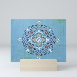 Calligraphy Flower Mini Art Print