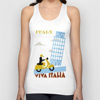 italy Tank Tops featuring Italy by Laurel Natale