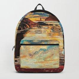 Sunrise Headstand Backpack