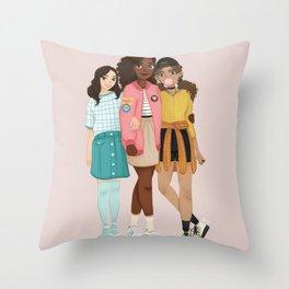 21st Century Schuyler Sisters Throw Pillow