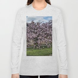 Ashby St Ledgers thatched cottages Long Sleeve T-shirt