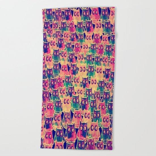 owl-88 Beach Towel