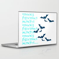 bats Laptop & iPad Skins featuring Bats by Young Devious Minds