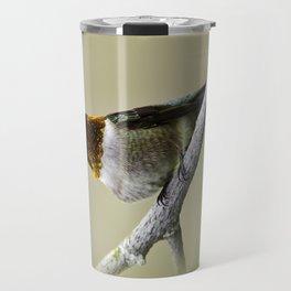 Hummingbird Portrait Travel Mug
