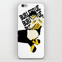 burlesque iPhone & iPod Skins featuring BURLESQUE by zzglam
