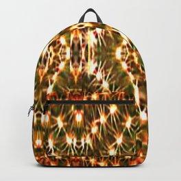 Desert Cactus Lighs on Red,Green,White,Tan,Brown Backpack