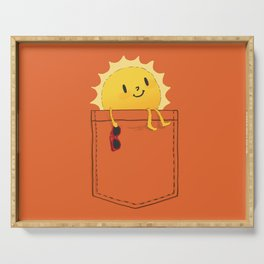 Pocketful of sunshine Serving Tray