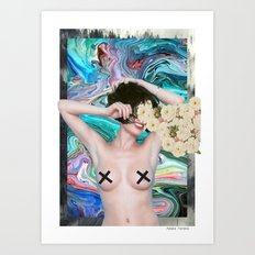 Free the nipples Art Print