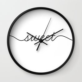 sweet dreams (1 of 2) Wall Clock