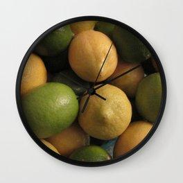 LemonLime Wall Clock