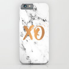XO copper on marble Slim Case iPhone 6s